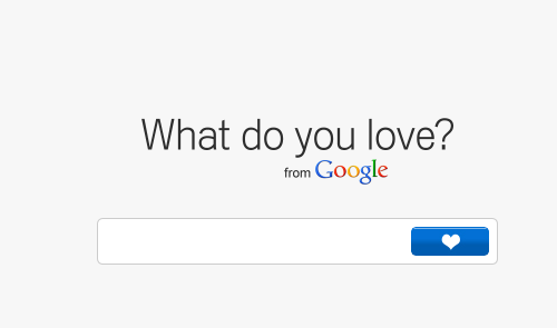 what-do-you-love-google