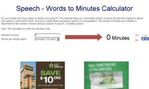 speechinminutes.com