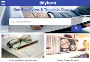 TidyForm-670x459