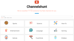 youtube-discover-channels-channelshunt